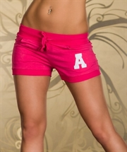 Jogging hotpants (XL-XXL) -Pink