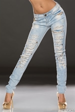 Perle glimmer jeans