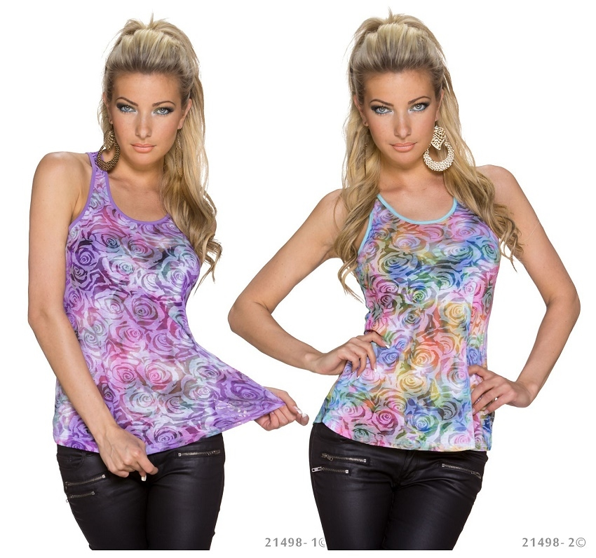 Rose mix tanktop