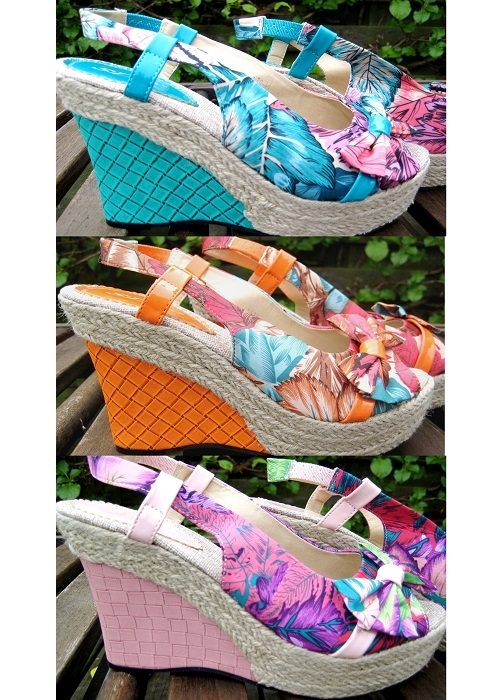 Blomster wedges
