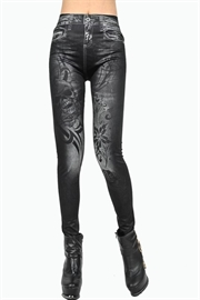 Kranie jeans alike leggings