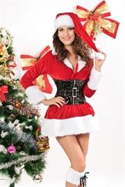 fræk julepige