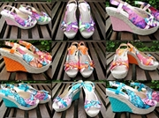 Blomster wedges (35-40)